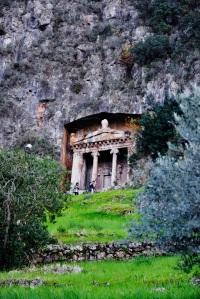 fethiye tyrkia kings tomb