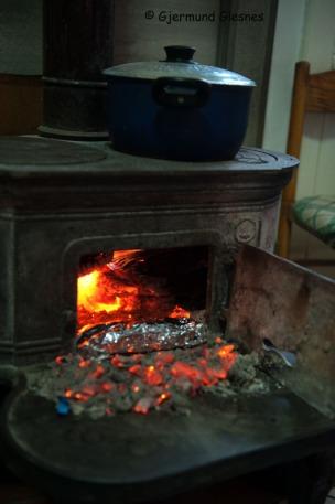 Pecorino i ovnsglør.