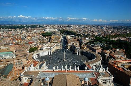 Peterskirken, Roma, Vatikanet