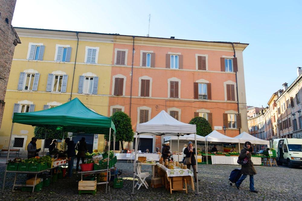 Modena, Piazza della Pomposa