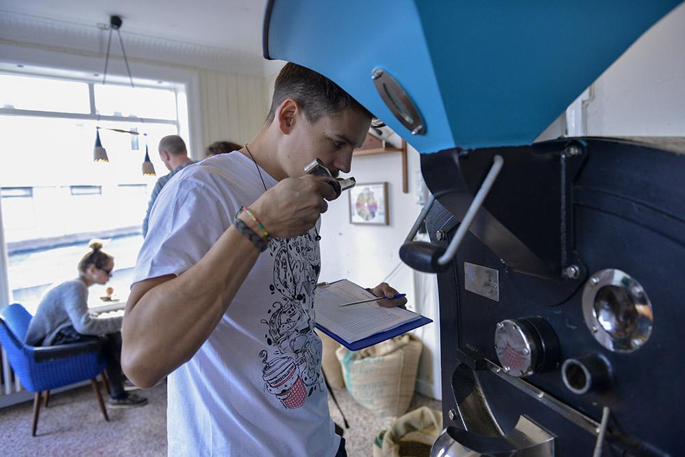Reykjaviks beste kafé, kaffe, Reykjavik Roasters