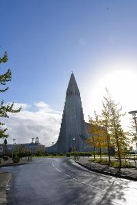 Reykjavik, Hallgrimskirkja, kirke, arkitektur, Island