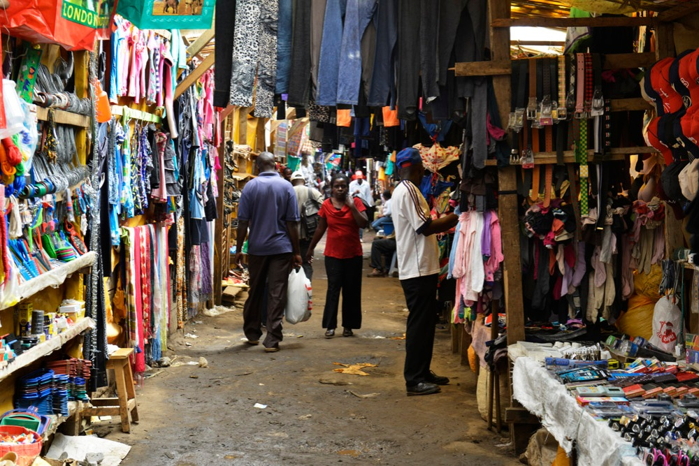Kibera marked, Afrikansk marked, Kenya