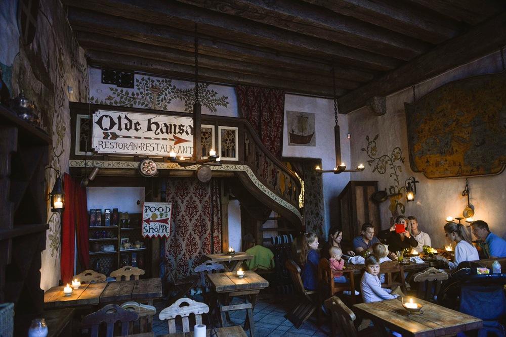 Olde Hansa, steder å spise, Tallinn