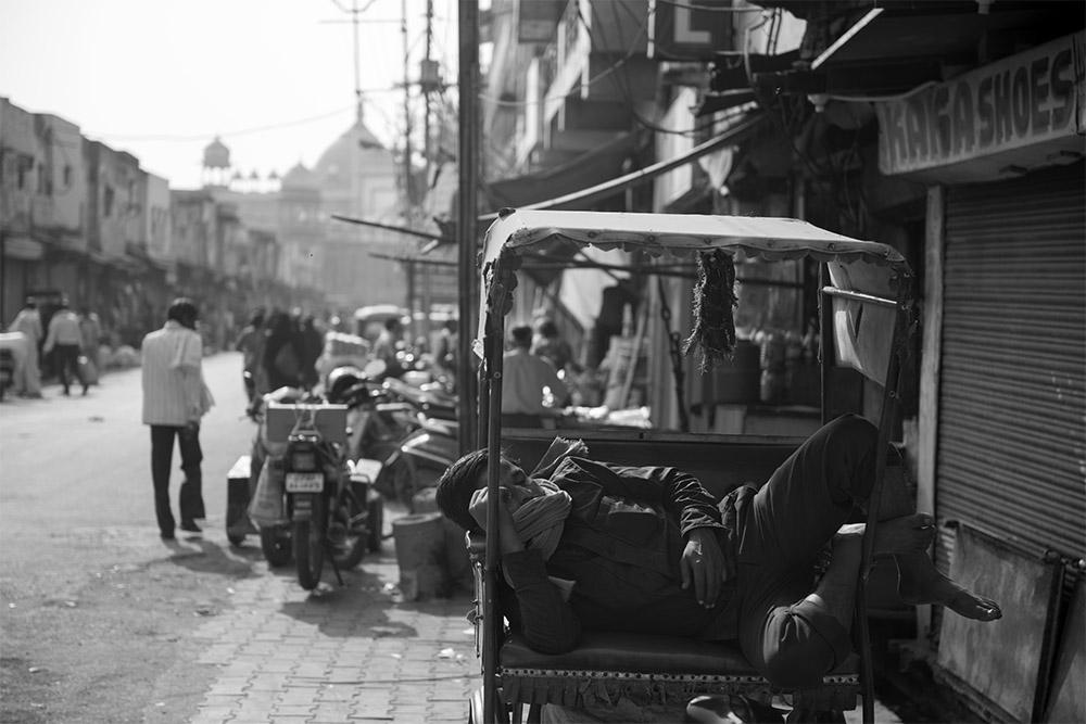 Rickshaw, India, Agra, Uttar Pradesh