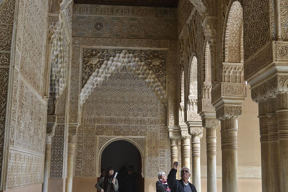 Nasridpalasset Alhambra Granada, muslimske Spania, verdensarv