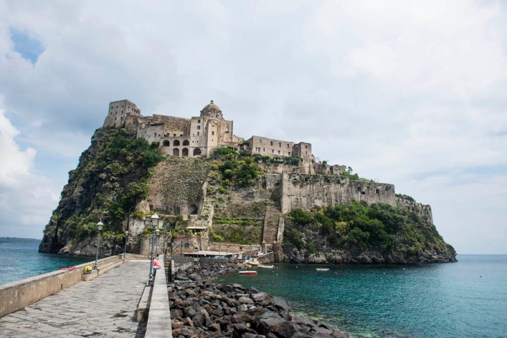 Castello Aragonese på Ischia