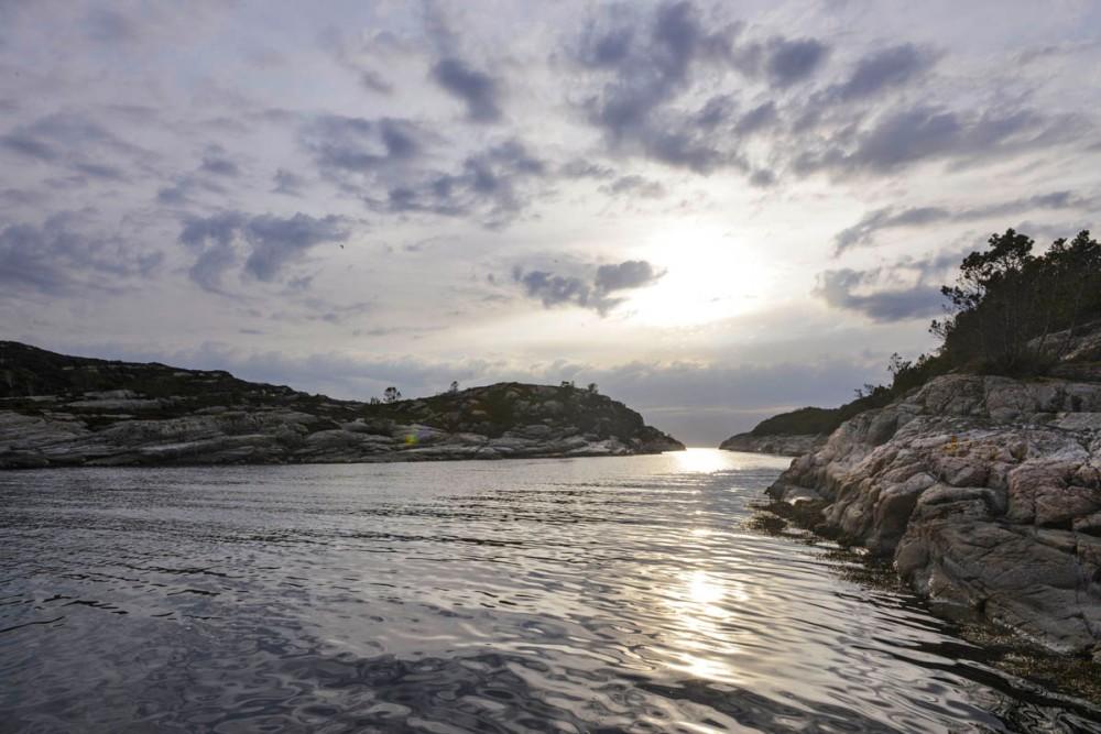 Færøysundet utenfor Glesnes på Sotra