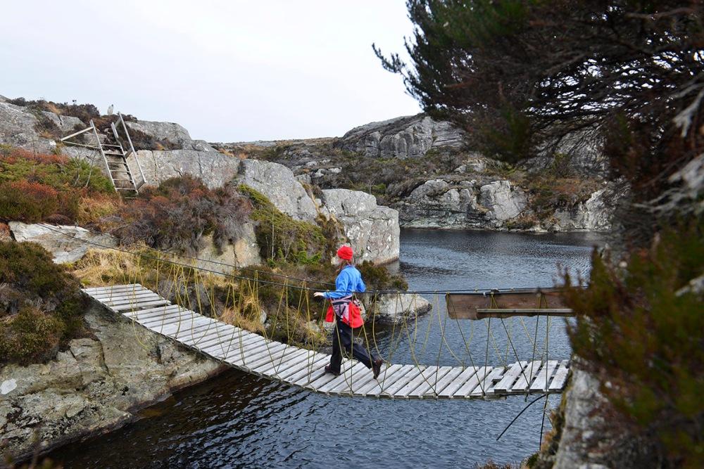 Nordsjøløypa er en fin fottur på Vestlandet