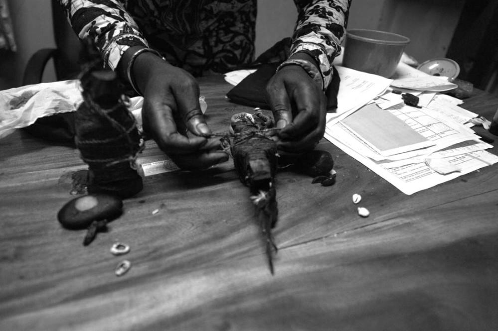 Voodoodukker i Benin