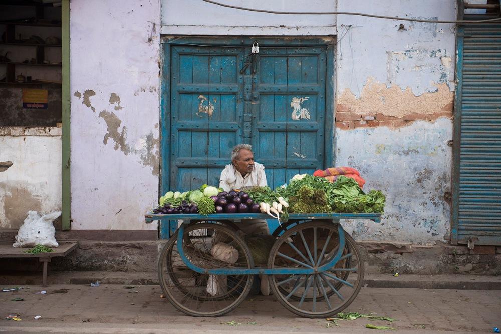 gateselger i Agra i India