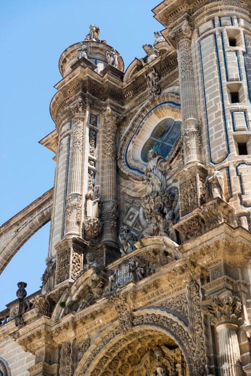 Detalj fra katedralen.