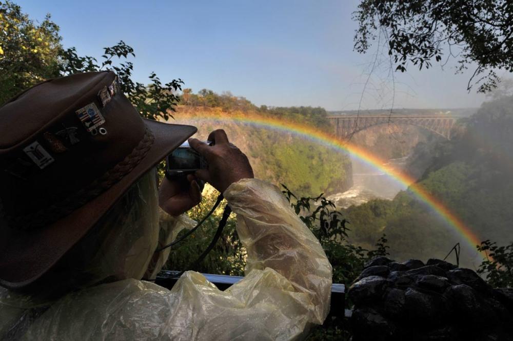 Mosi-oa-Tunya National Park og Victoria Falls Bridge
