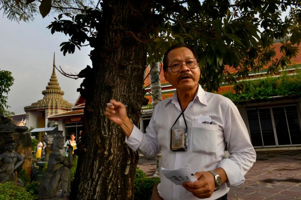 Guide i Bangkok-tempelet Wat Pho