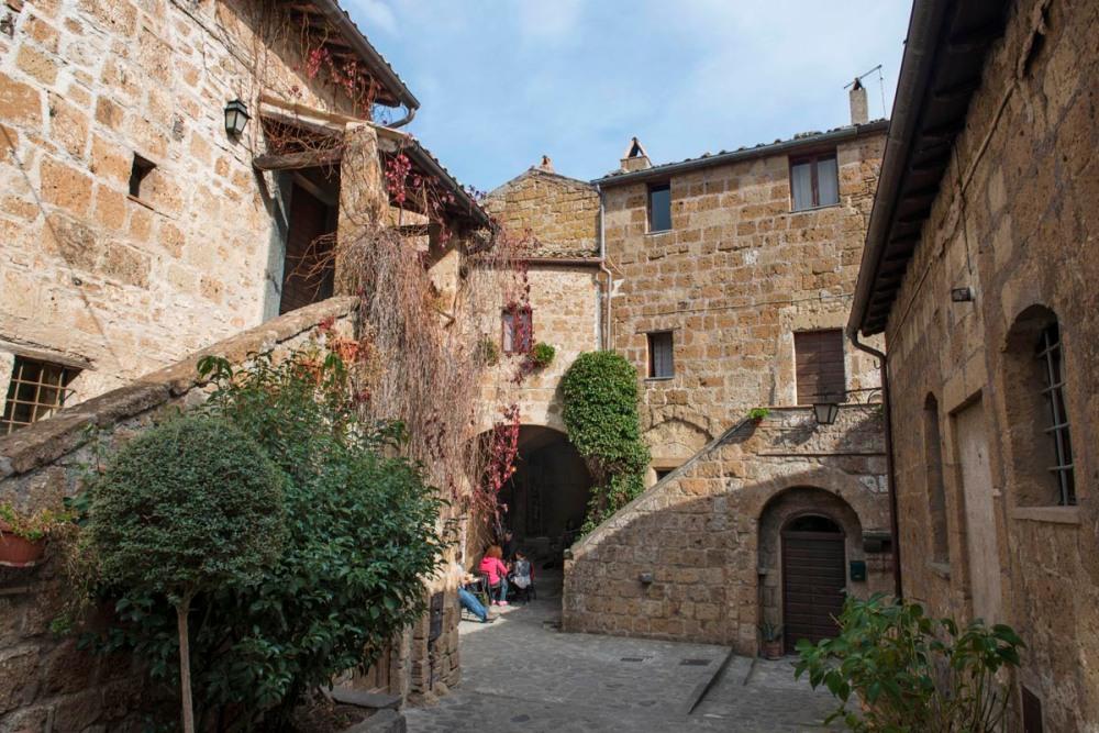 Civita di Bagnoregio i Italia